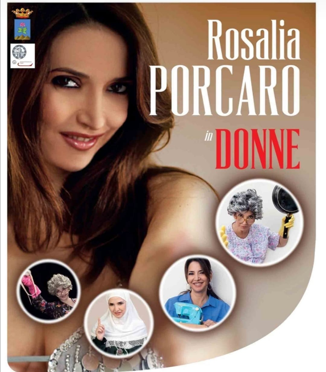Spettacolo Rosaria Porcaro a Forio Ischia